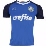 Camisa Palmeiras Azul Torcedor Pronta Entrega