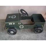 Jeep Pedal Car Bandeirantes 100% Original Valor Negociavel
