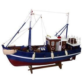 Barco Pesca Pesqueiro Neptuno - Madeira - Veleiro Traineira