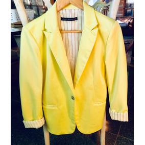 Mujer Zara Amarillo - Chaquetas y Blazers en Mercado Libre Uruguay d255c486d7b4