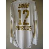 Camisa Palmeira Marco Branca Dourada - Camisa Palmeiras Masculina no ... ce8f9d4149807