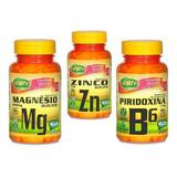 Zma Suplemento 180 Cáps Zinco Magnésio E Vitamina B6 + Maca