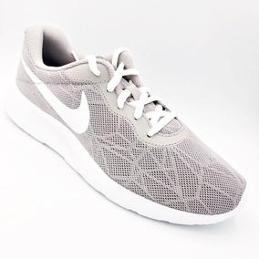 c96d435f595 Tenis Nike Tanjun Gris Dama 100%originales Running