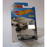 Delorean Volver Futuro Escala 1/64 Coleccion 7cm Hot Wheels