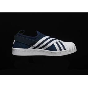 premium selection 70c27 8826b Tenis Zapatos adidas Superstar Slip-on Bandas Originales
