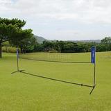 Tomshoo Portátil Tenis Bádminton Sistema Red Deportes Al...