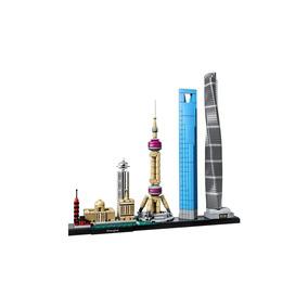 Lego Architecture - Xangai - Código 21039