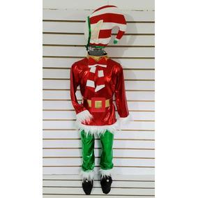 Disfraz De Niño Duende Navidad Gorro Botas Pastorelas Elfo