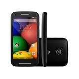 Smartphone Motorola Moto E Xt1022 Preto Câm 5mp 4gb(vitrine)