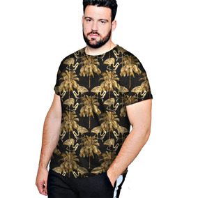 1656224049858 Camiseta Camisa Blusa Plus Florido Los Angeles - Swag