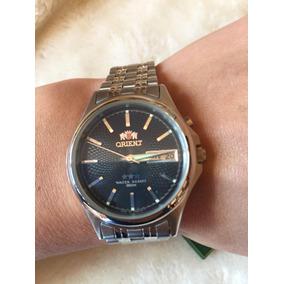 96b36df2860 Relogio Pulso Antigo Orient Au - Relógios De Pulso no Mercado Livre ...