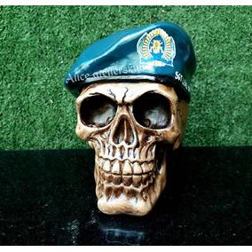 78af1091733c9 Caveira Abajur Policia Militar + Caveira Skull Decoração