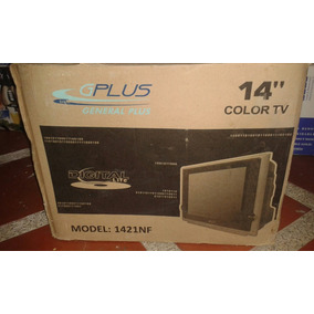 Tv General Plus De 14 Pulgadas A Color Y Con Control.