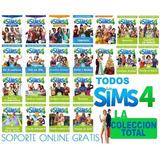 Los Sims 4 2019 + Todas Expansiones Strangerville Pc Y Mac