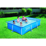 Piscina Rectangular Familiar 3.960 Litros 3m X 2m X 66cm