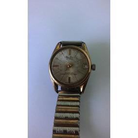 Relógio Mu Du 25 Jewels Swiss P/consertar Ou Tirar Peças(513