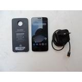 Motorola Moto Z Play + Snap De Bateria
