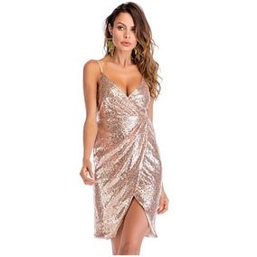 Vestidos De Fiesta Cortos Sexy Vestido Noche Envío Gratis