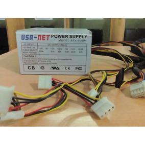 Fuente De Poder Usa Net Mod Atx 400 W