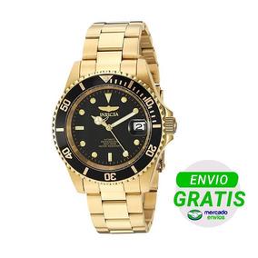 Invicta 89290b Dorado Pro Diver Automático Hombre