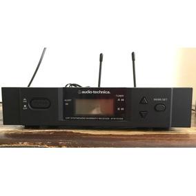 Receptor Uhf Para Microfone Sem Fio Audio Technica Atw-r3100