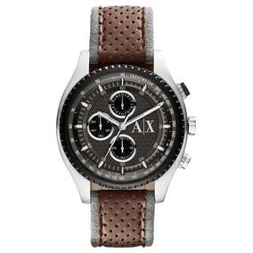 b313e1b50 Relógio Armani Exchange Ax2090 Uax Marrom Em 12 X Sem Juros ...