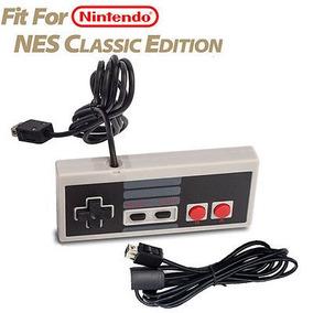Controlador De Juego 1pc Para Nintendo Nes Mini Classic Edit