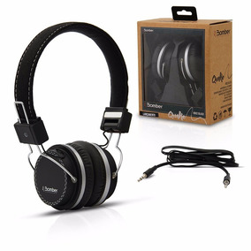 Headphone Bomber Quake Hb02 Black