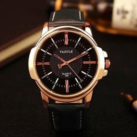 Reloj Negro Hombre Caballero Moda Elegante Moderno Lujo
