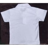 Camiseta Colegial Niños Tipo Polo Blanca X Mayor Y Detal b445735c56ca3