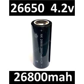 Bateria 26650 4.2v 26800mh Lanterna Le Hy Jws X900 E1 E2 E11