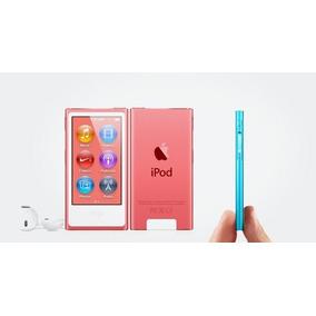 Ipod Nano 16gb Rosa 7g - Touch, Rádio Fm & Bluetooth -novob