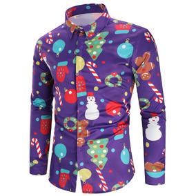 Botón De Tema De Navidad Hasta Camisa