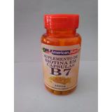 Suplemento De Biotina 60 Cápsulas 250 Mg ( Vitamina B7)