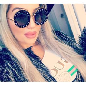 896fa2db15633 Gucci L aveugle Oculos De Sol - Óculos no Mercado Livre Brasil