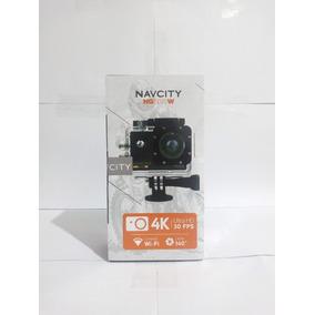 Câmera Esportiva 4k Navcity Ng200w C/ Wi-fi