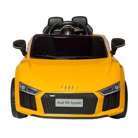 Kidscool Auto A Bateria Audi Spyder Amarillo