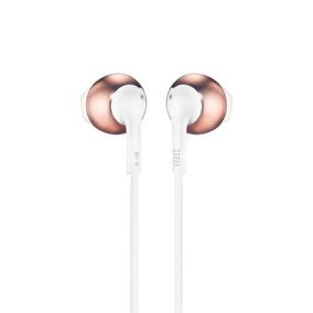 Fone De Ouvido In Ear Jbl Tune205 Bluetooth Gold Rose