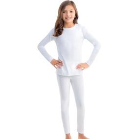8266 Pijama Termica Ilusion Niño Niña Azul Blanco Pantalon