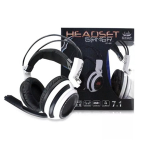 Fone Ouvido Headset Gamer Led Microfone Jogo Online Chat F51