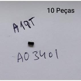 10x Transistor A19t Ao3401 Smd Novo Original Para Receptores