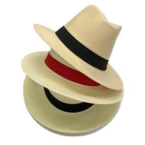 Chapéu Moda Panamá Fedora Aba Larga Masculino Feminino Praia. 4 cores. R  59 647817eb579