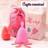 Copa Menstrual + Bolsita De Viaje + Instructivo + Obsequio