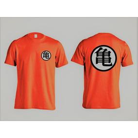Camiseta Animes - Dragon Ball Goku Kanji - 100% Algodão!!
