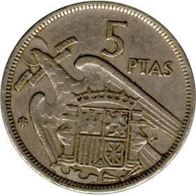 Spg España 5 Pesetas 1957 Fransisco Franco