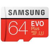 Tarjeta Memoria 64gb Original Samsung Uhs - 3 Micro Sdxc