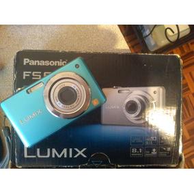 Camara Digital Panasonic Lumix Fs6 Blue