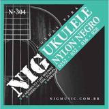 Encordoamento Ukulele Soprano Nylon Negro Nig N304