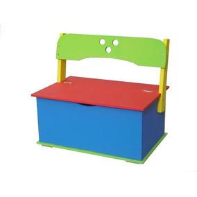 Baúl Asiento Ideal Para Juguetes Para Niños