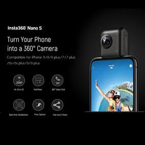 Cámara Vídeo Insta360 Nano S 4k 20mp 360 Vr Con Panorámico